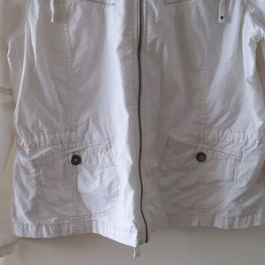 Eddie Bauer Jackets & Coats - Eddie Bauer Light Hoodie White Size XL